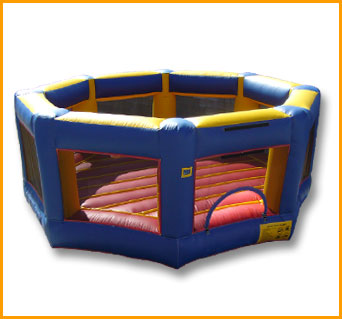 OCTAGON BOUNCE HOUSE